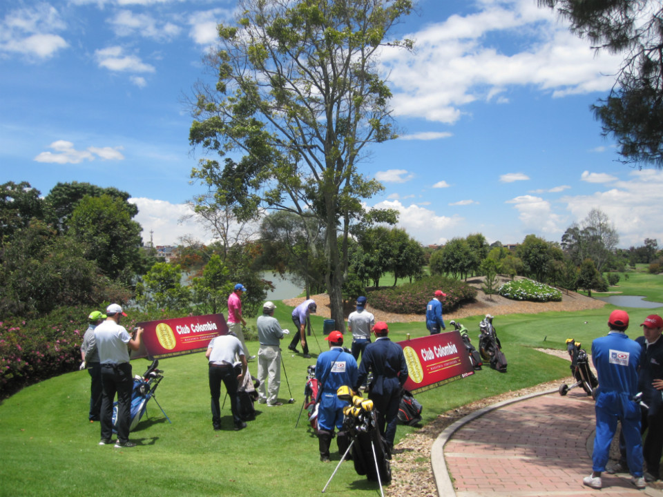 Club Colombia Tour en el Club Los Lagartos // Foto: GolfLink