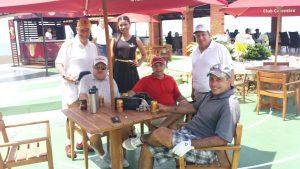 Participantes del Club Colombia Tour en el Country Club de Barranquilla // Foto: GolfLink