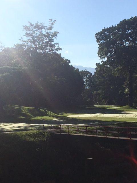 Campo de Golf del Club Campestre de Bucaramanga // Foto: Nación Golf