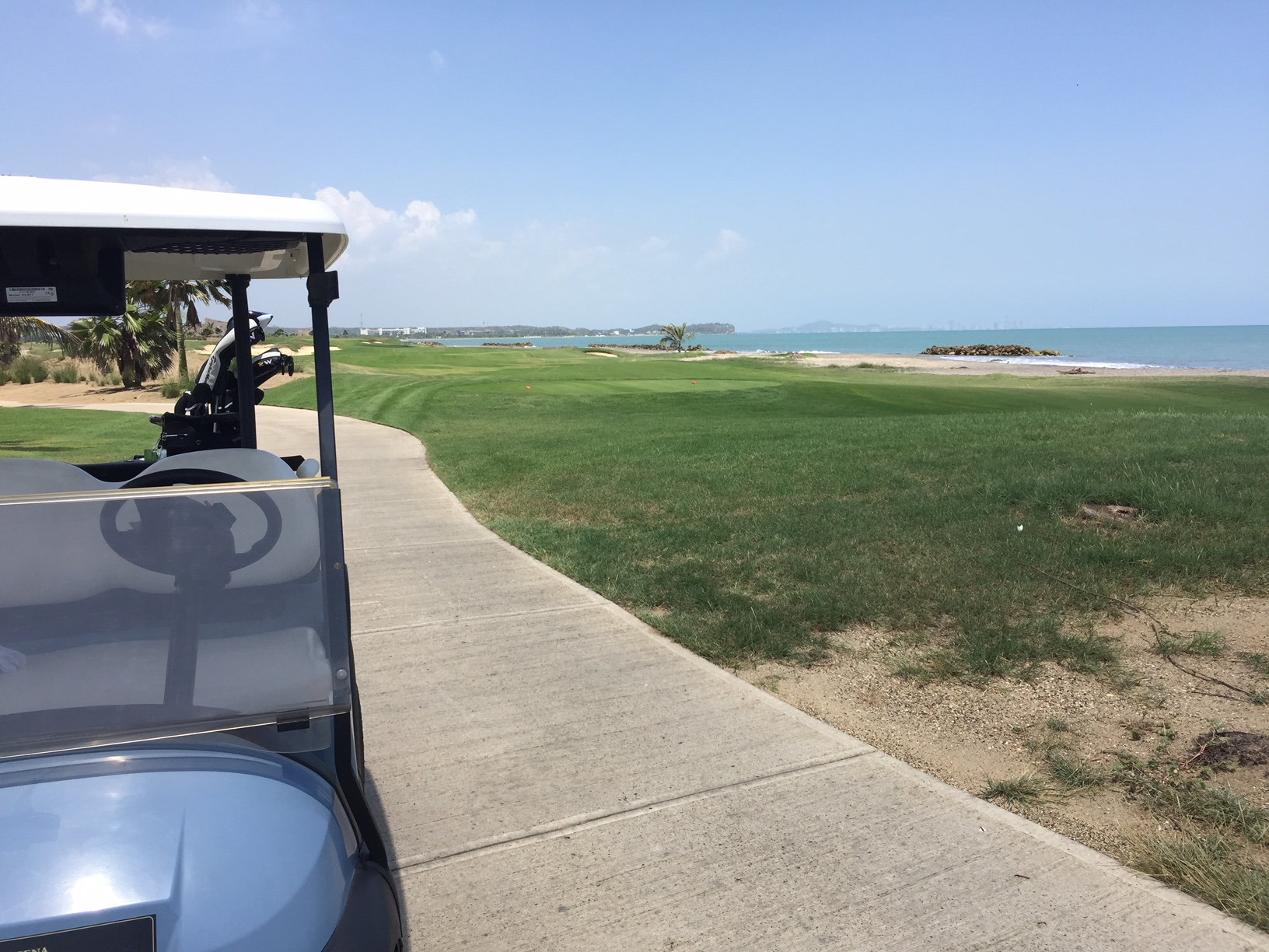Karibana Beach Resort (Cartagena, Colombia) // Foto: Nación Golf