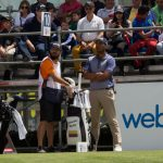 Juan Sebastián Muñoz y Mateo Gómez en Web.com Tour | Foto: Nación Golf