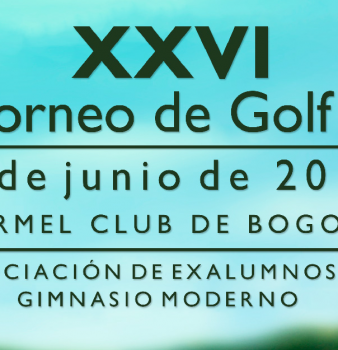 Torneo de Golf – Exalumnos del Gimnasio Moderno