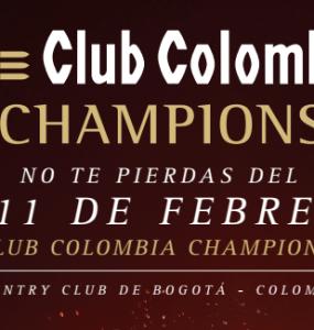 Estos son los colombianos que estarán en el Club Colombia Championship 2018