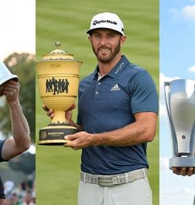 Dustin Johnson es el jugador del año para el PGA Tour