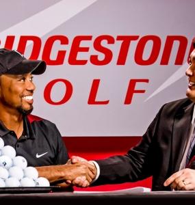 Tiger eligió Bridgestone