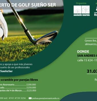I Torneo de Golf 'Sueño Ser'