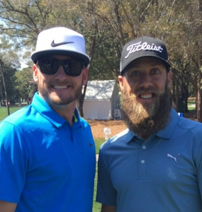 La barba de Graham DeLaet