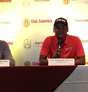 """Juan Sebastián Muñoz: """"Estoy feliz y ansioso por disputar mi primer Torneo en el PGA Tour"""""""
