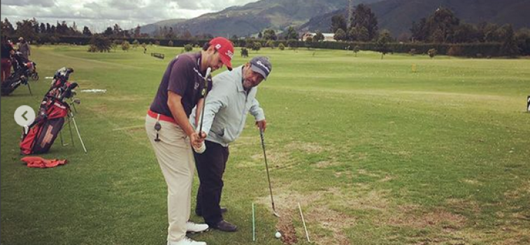"""Marcelo Rozo: """"Llevo el golf en la sangre"""" (Parte 2)"""