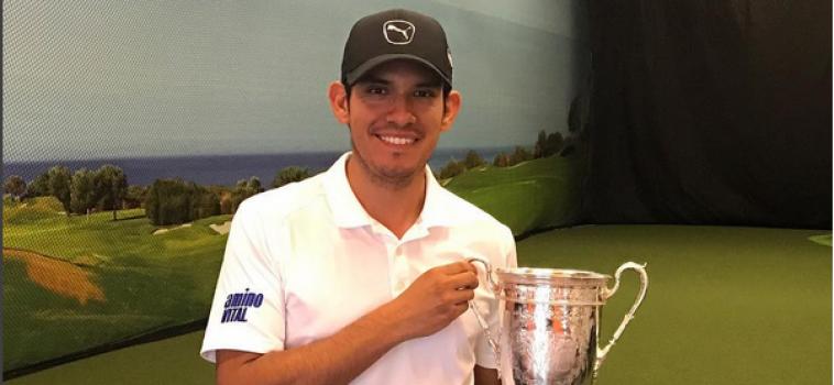 Marvin Sangüesa: la biomecánica al servicio del golf