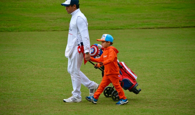 """Alejandro Leiva: """"El golf infantil en Colombia esta teniendo un muy buen nivel"""""""
