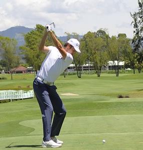 """Manuel José Merizalde: """"Ahora disfruto más el golf"""""""