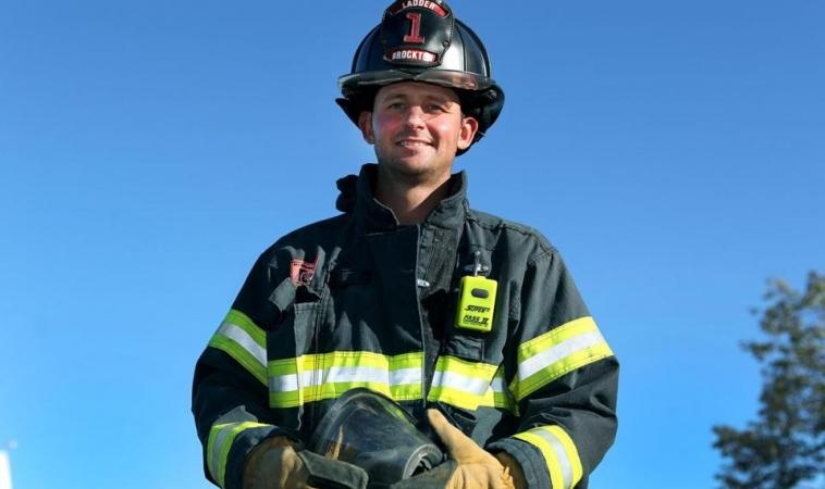 Un bombero en Augusta